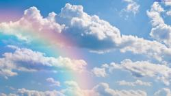 ... wallpaper-clouds-sky-rainbow-desktop-wallpaper ...