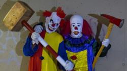 Killer Clown 3 - The Uncle! Scare Prank!