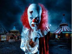 scary wallpaper desktop | Scary Clown Wallpaper The Desktop - delicious digg stumbleupon reddit ... | All things Halloween | Pinterest