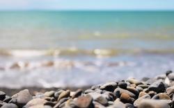 Coast sea stones