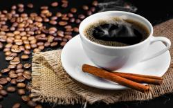Black coffee cinnamon