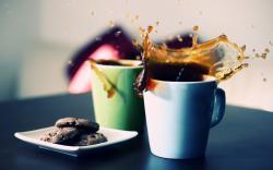 Coffee Splash Cookies Good Morning