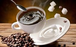 ... Coffee Wallpaper · Hot Coffee Wallpaper
