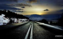 Cold Road Wallpaper