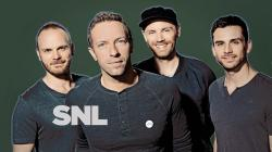 ... Coldplay On SNL 2014 ...