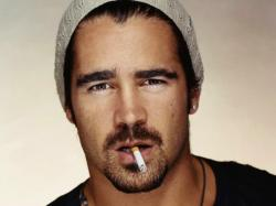 Colin Farrell Cool Face Wall Paper