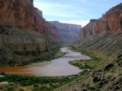The Colorado River winds through the Grand Canyon. Photo: Brian Richter