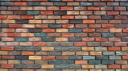 Colored bricks wall Wallpaper in 1920x1080 HD Resolutions