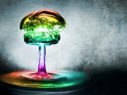 Water Drop Color. enlarge then Water Drop Color