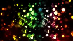 Colorful Bokeh Abstract Colorful Bokeh