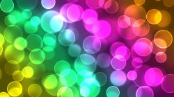 abstract colorful bokeh