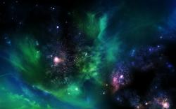 Colorful Cosmos Wallpaper