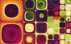 Colorful Squares Art