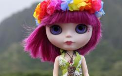 Colorful Toy Doll Wallpaper