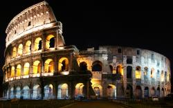 Colosseum at Night Wallpaper in 2560x1600 Widescreen