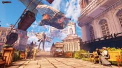 Bioshock infinite columbia game screenshots video games wallpaper
