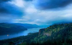 Earth - River Landscape Forest Cloud Scenic Wallpaper