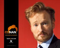 ... Conan O'Brien drops the ...
