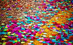 Related For Confetti art. Colored confetti