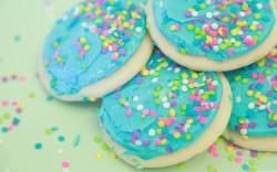 Soft Sweet Sugar Cookies HD Wide Wallpaper for Widescreen