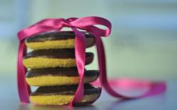 Cookies Sweet Tape Ribbon Bow