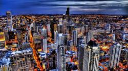 Astonishing Hd Wallpaper Chicago Skyline