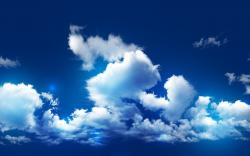 Cool Cloudy Sky Wallpaper