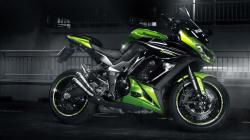 Cool Green Bike Wallpaper
