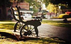 Cool Park Bench Pictures