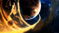 Pc Wallpaper Planets: Wallpaper Cool Planet Impacts Images 1920x1080px