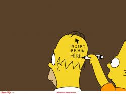 Bart Simpsons, The Simpsons, Funny Pictures, Funny Stuff, Homer Simpsons, Fans Art, Funny Wallpapers, Brain, Happy Fathers Day