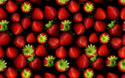 Cool Strawberry Wallpaper