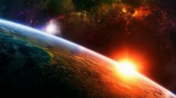 planetary sunrise constellation space light sun desktop hd wallpapers cool pictures widescreen