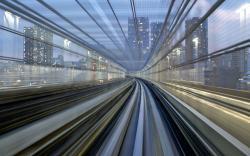 Cool Train Tunnel Wallpaper