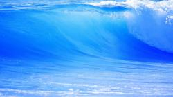 Blue Waves Cool Wave