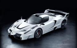 Cool White Ferrari Cars Modification Wallpaper HD Wallpaper