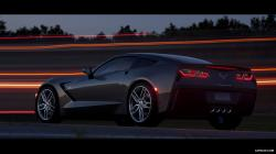 2014 Chevrolet Corvette Stingray - Rear Wallpaper