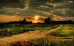 Country Sunset Wallpaper 5349