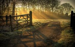 Country Fence Wallpaper · Country Wallpaper ...