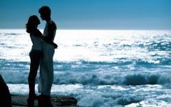 romantic love couple at beach hd desktop wallpapers free love couples images