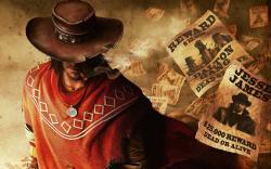 Call of Juarez Gunslinger Cowboy Hat Reward Wanted Game HD Wallpaper