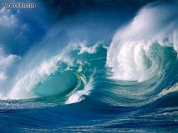 The waves seem to have delivered her to the shore, sparing her (or not) of death. This has a deep social meaning, ...