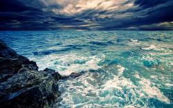 ... Waves Crashing Desktop Wallpapers-5 ...