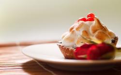 Cream Cake Berries Dessert