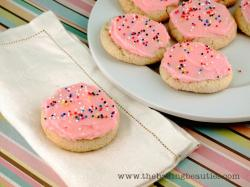 Gluten Free Sour Cream Sugar Cookies from The Baking Beauties