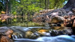 Hdr Creek HD Desktop Background wallpaper