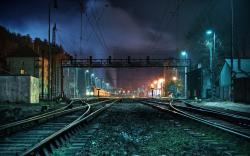 Creepy Train Station
