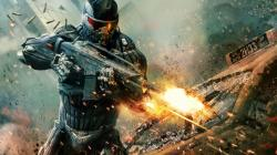 See, Even He's Shooting His Copy of Crysis 2
