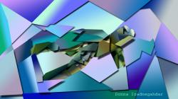 Cubism Turtle by Danzi343 Cubism Turtle by Danzi343
