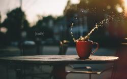 Cup of Coffee Splash City